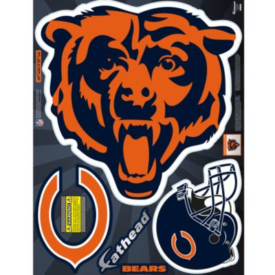 Chicago Bears Street Grip Outdoor Decal