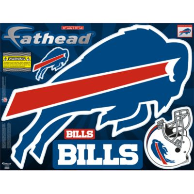 Buffalo Bills Street Grip Outdoor Decal