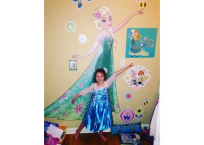 Snow Queen Elsa Fathead Wall Decal