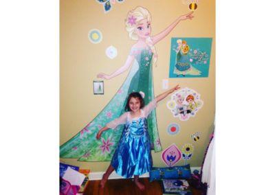 Snow Queen Elsa - Fathead Jr Wall Decal