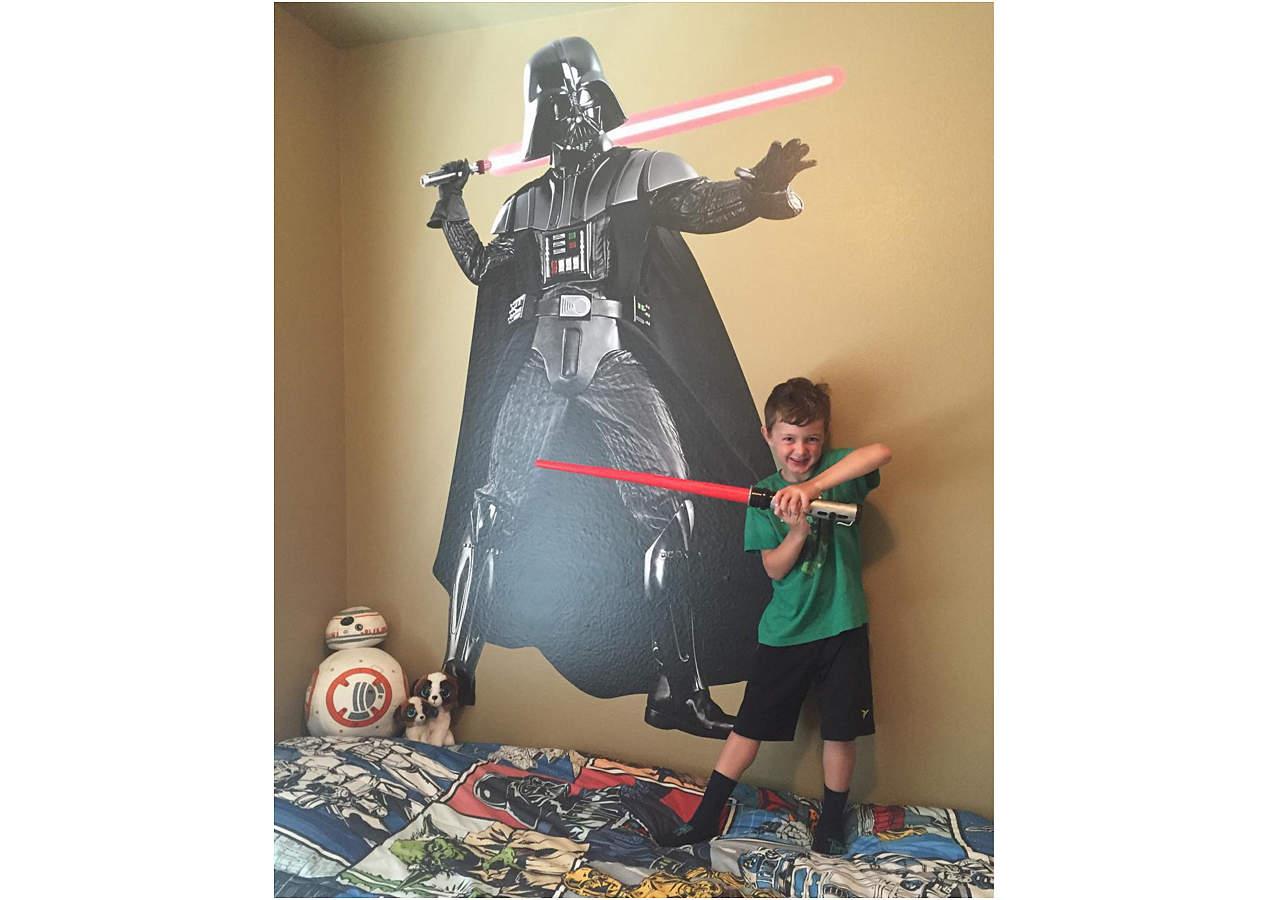 Darth Vader Wall Decal Shop Fathead 174 For Star Wars