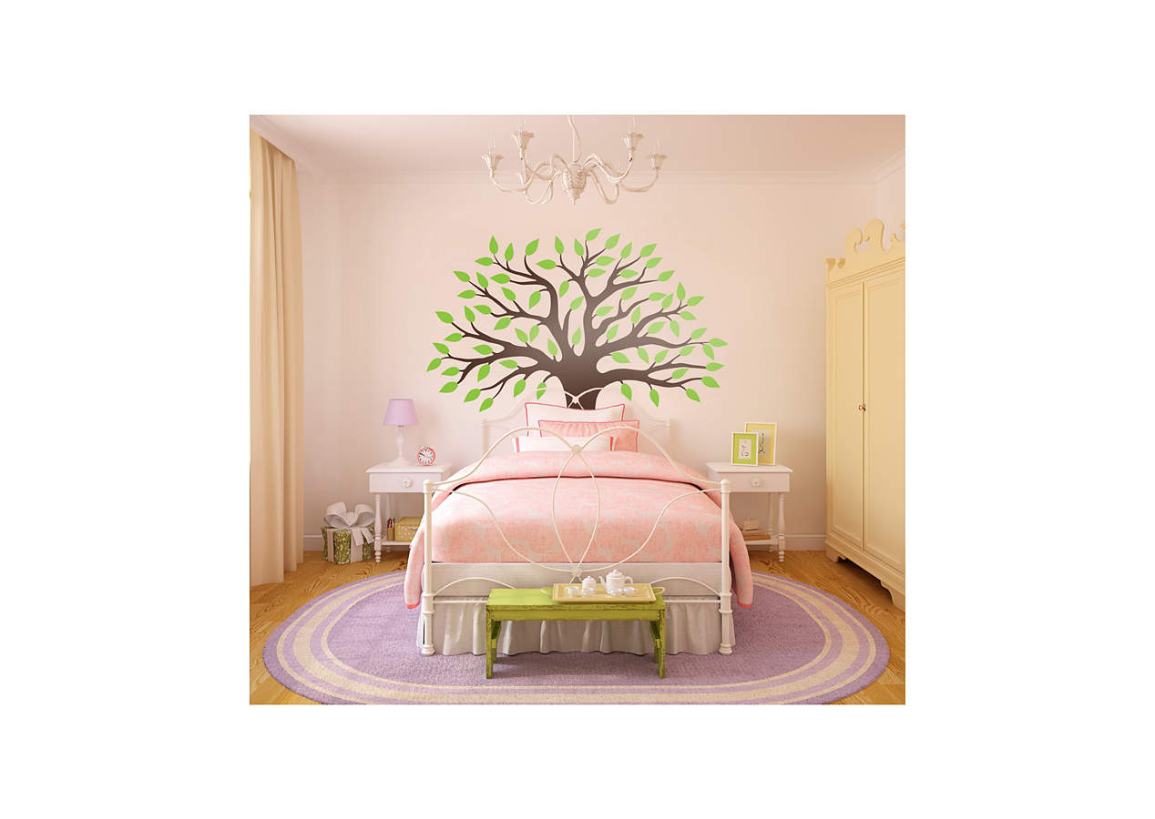 Spring Tree Wall Decal Shop Fathead 174 For Wall Art D 233 Cor