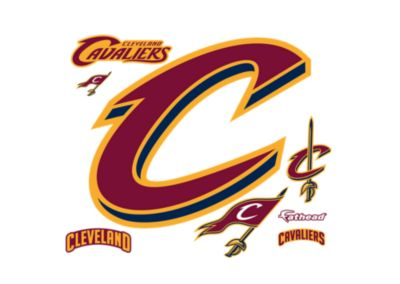 Small Cleveland Cavaliers 3D C Teammate Logo Decal