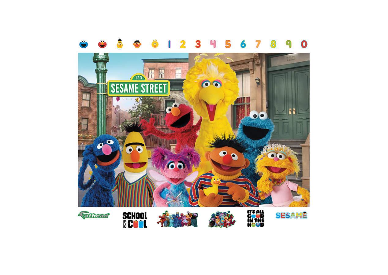 Shop Fathead® For Sesame Street Decor