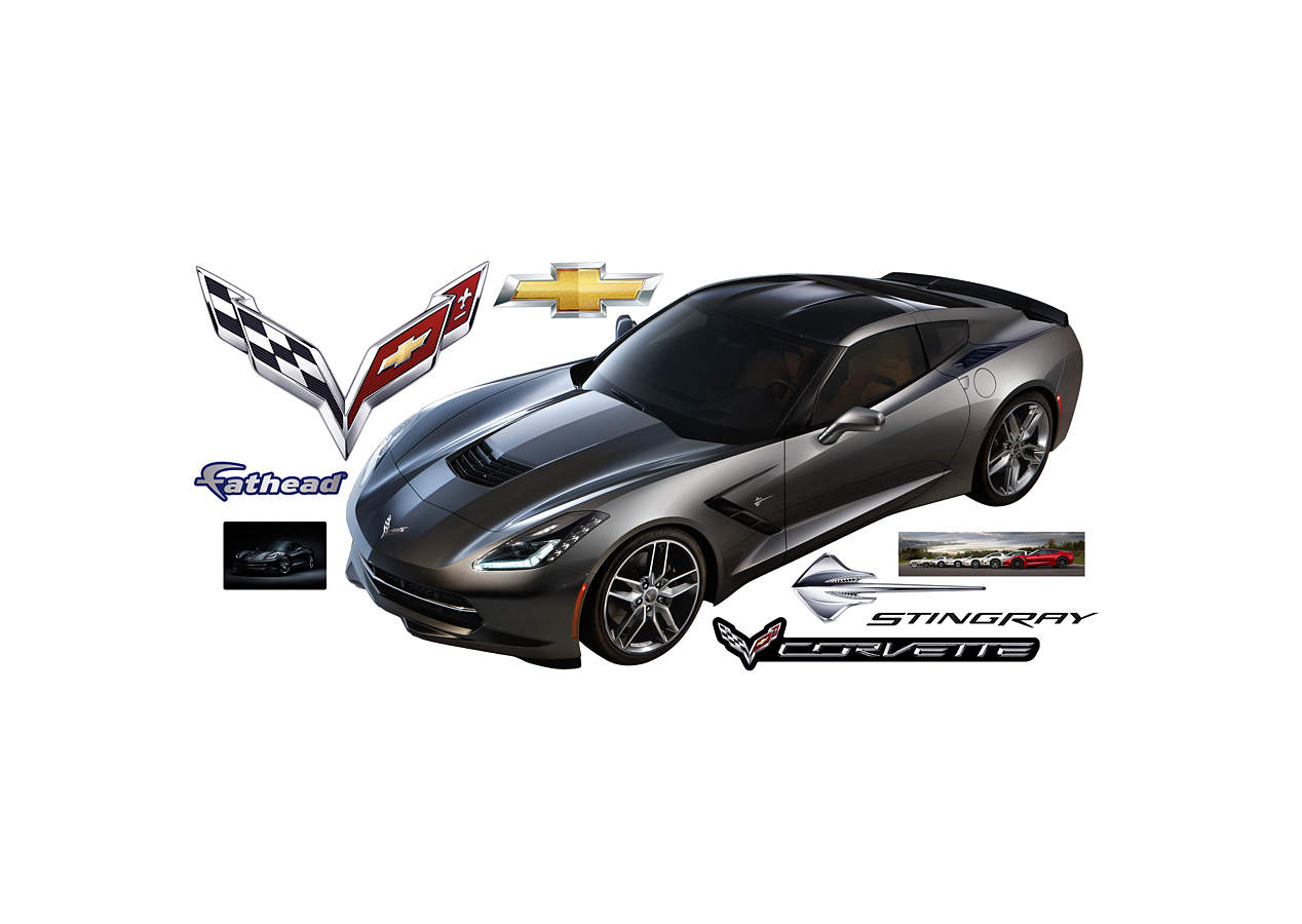 2014 Corvette Stingray Wall Decal