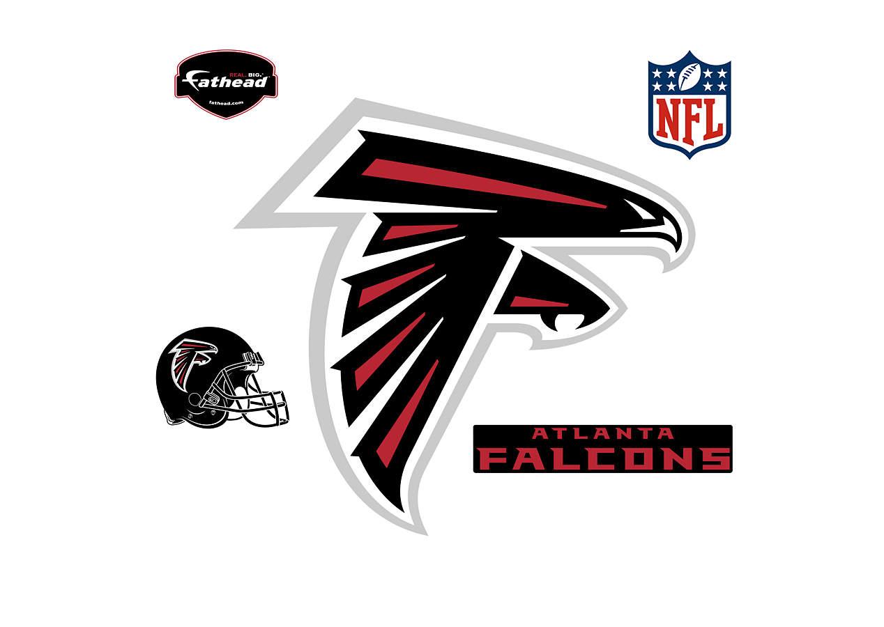 Images Of The Atlanta Falcons Football Logos: Atlanta Falcons Logo Wall Decal
