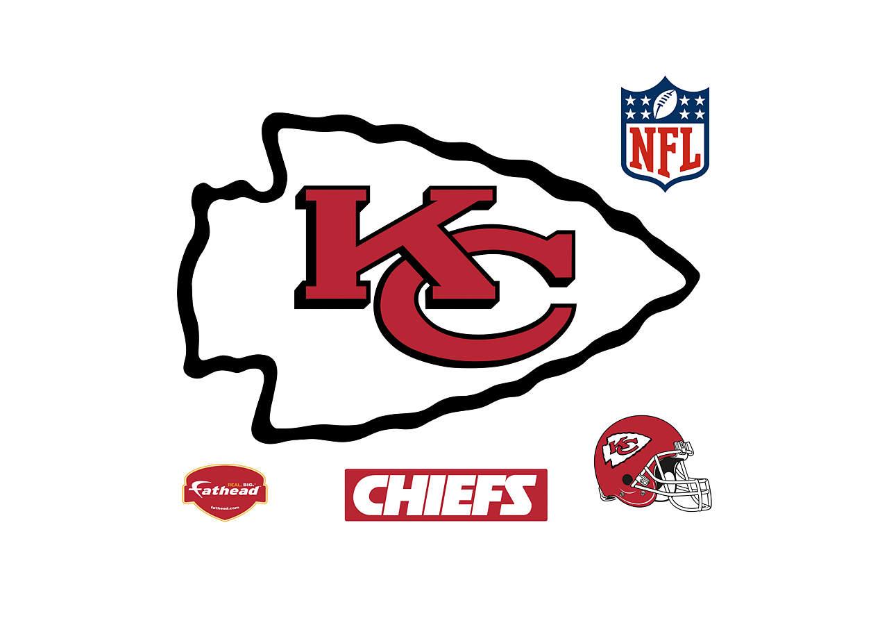 Kansas City Chiefs Logo Wall Decal   Shop Fathead® for ...