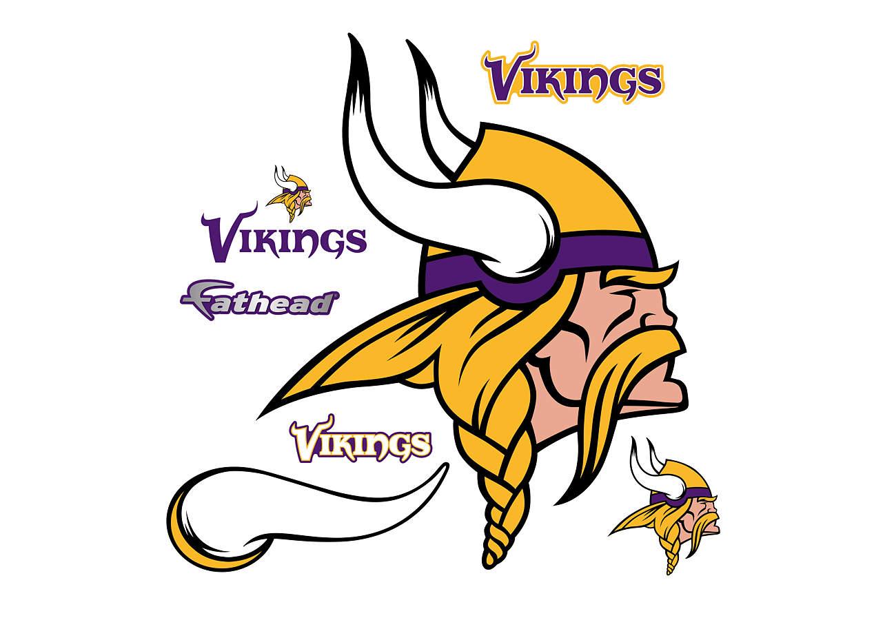 Minnesota Vikings Logo Wall Decal | Shop Fathead® for ...