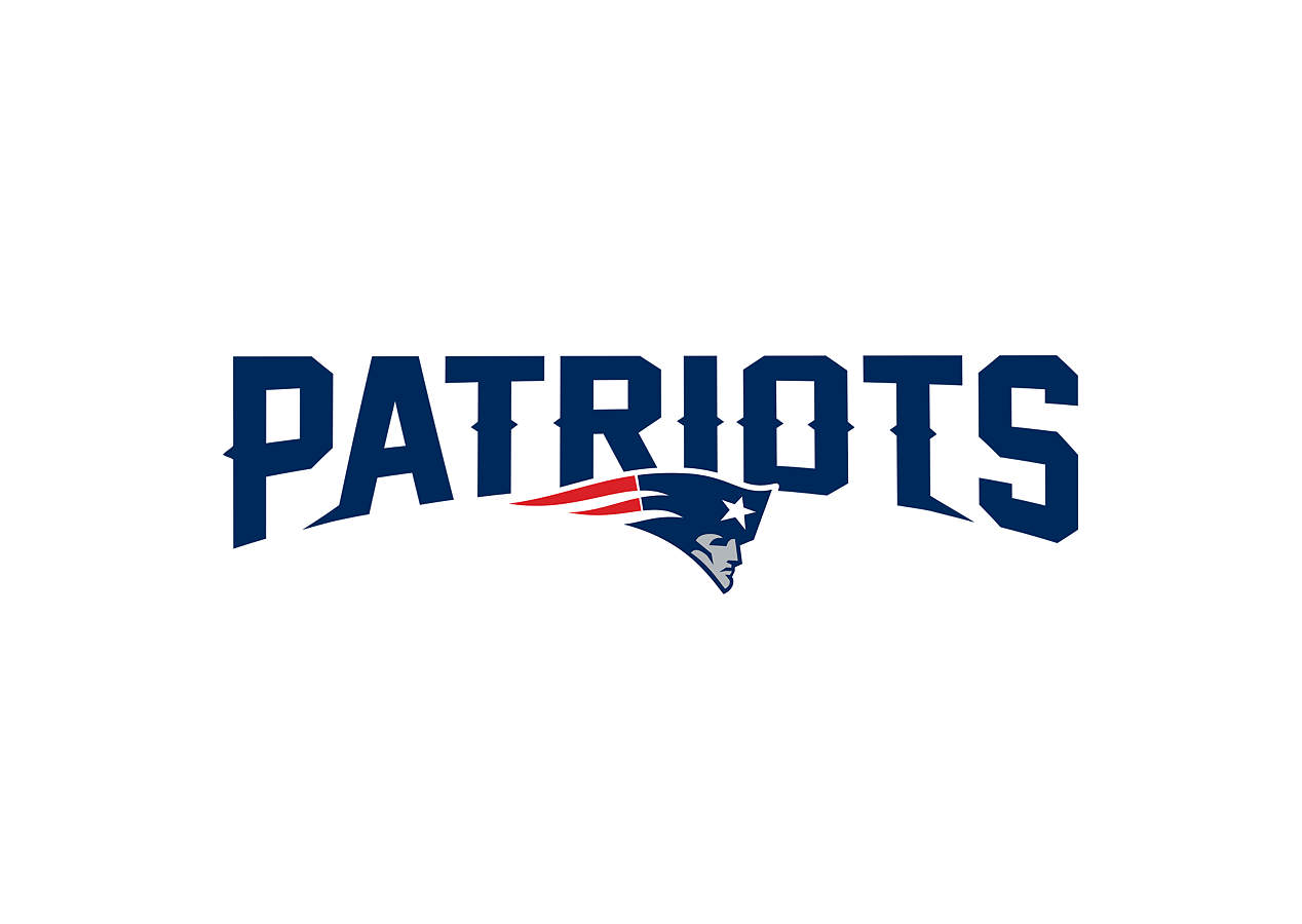 New England Patriots Logo - Transfer Decal Wall Decal ...