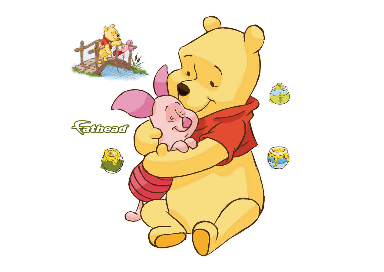 winnie the pooh fathead jr wall decal shop fathead for winnie the pooh wall graphics. Black Bedroom Furniture Sets. Home Design Ideas