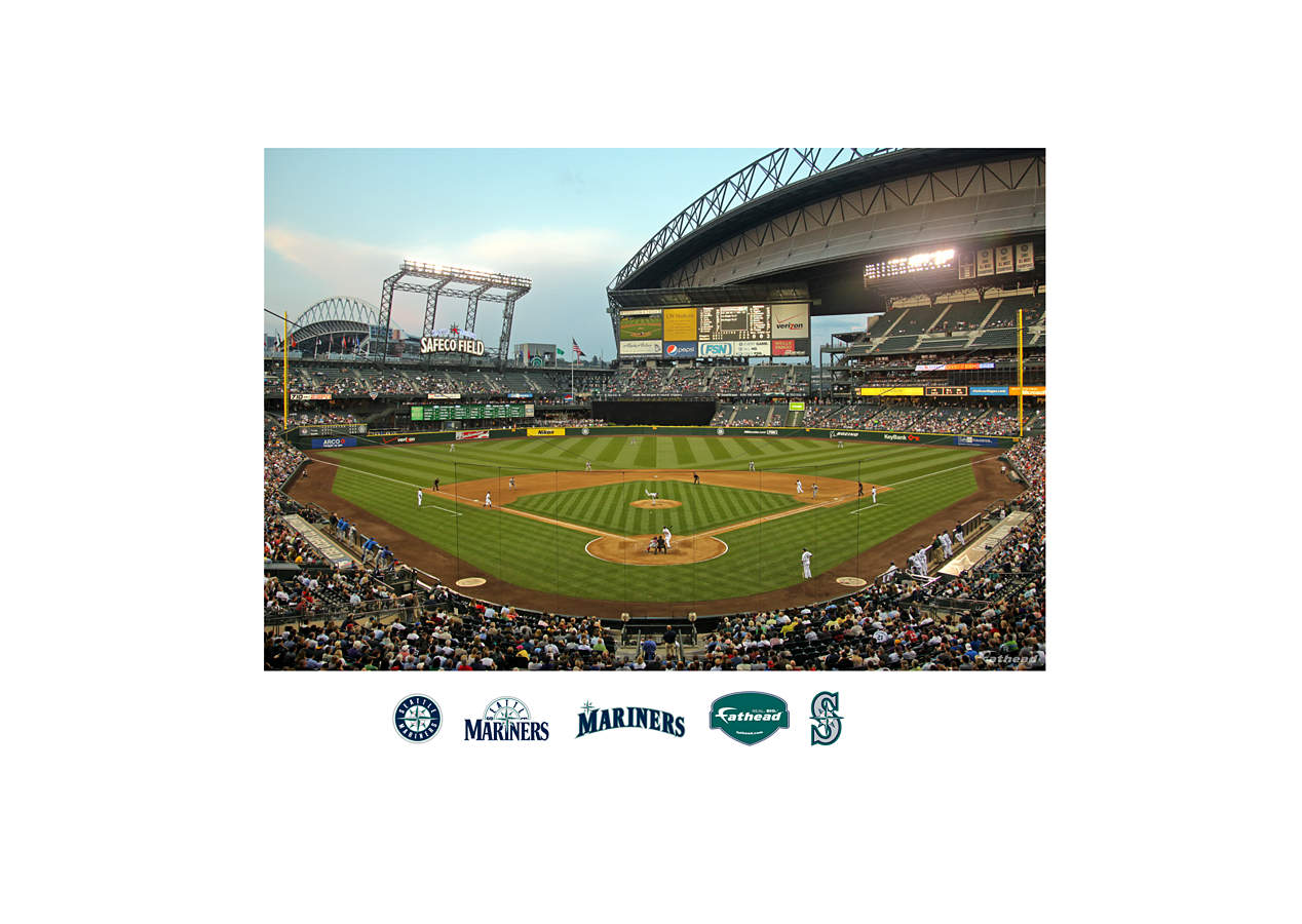 Inside Safeco Field Mural Wall Decal Shop Fathead 174 For