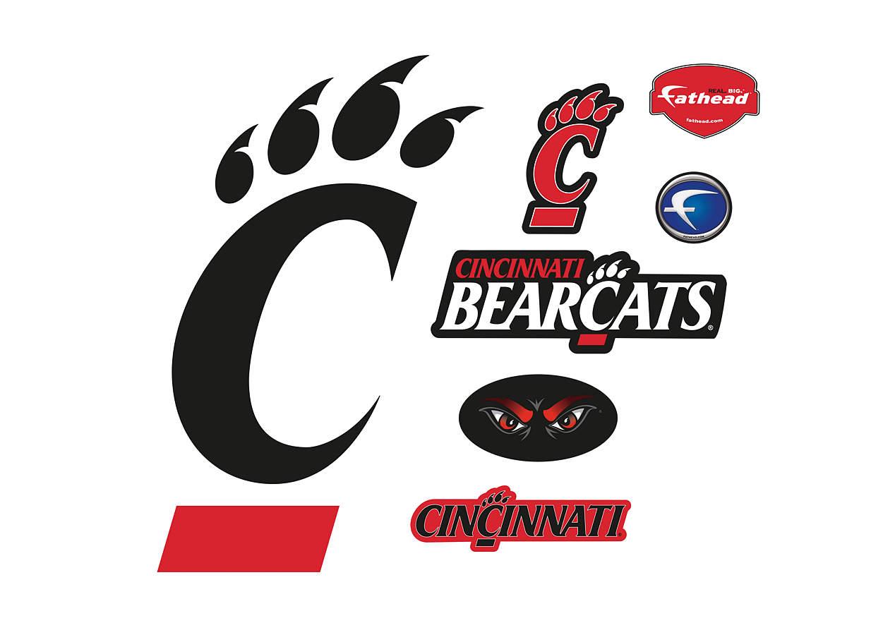 Cincinnati Bearcats Logo Wall Decal Shop Fathead For