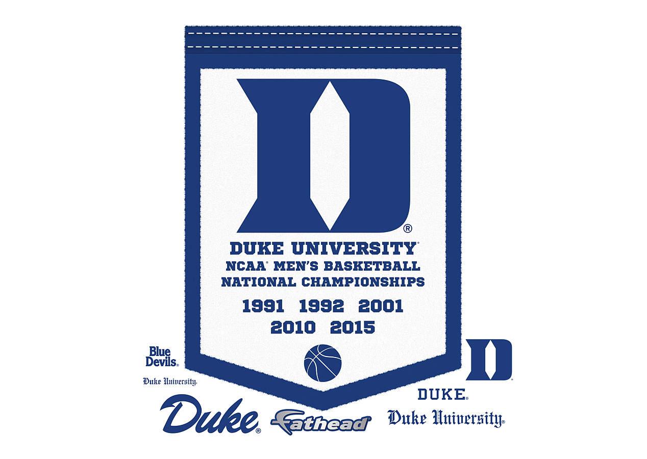 Duke Blue Devils National Championships Banner Men S