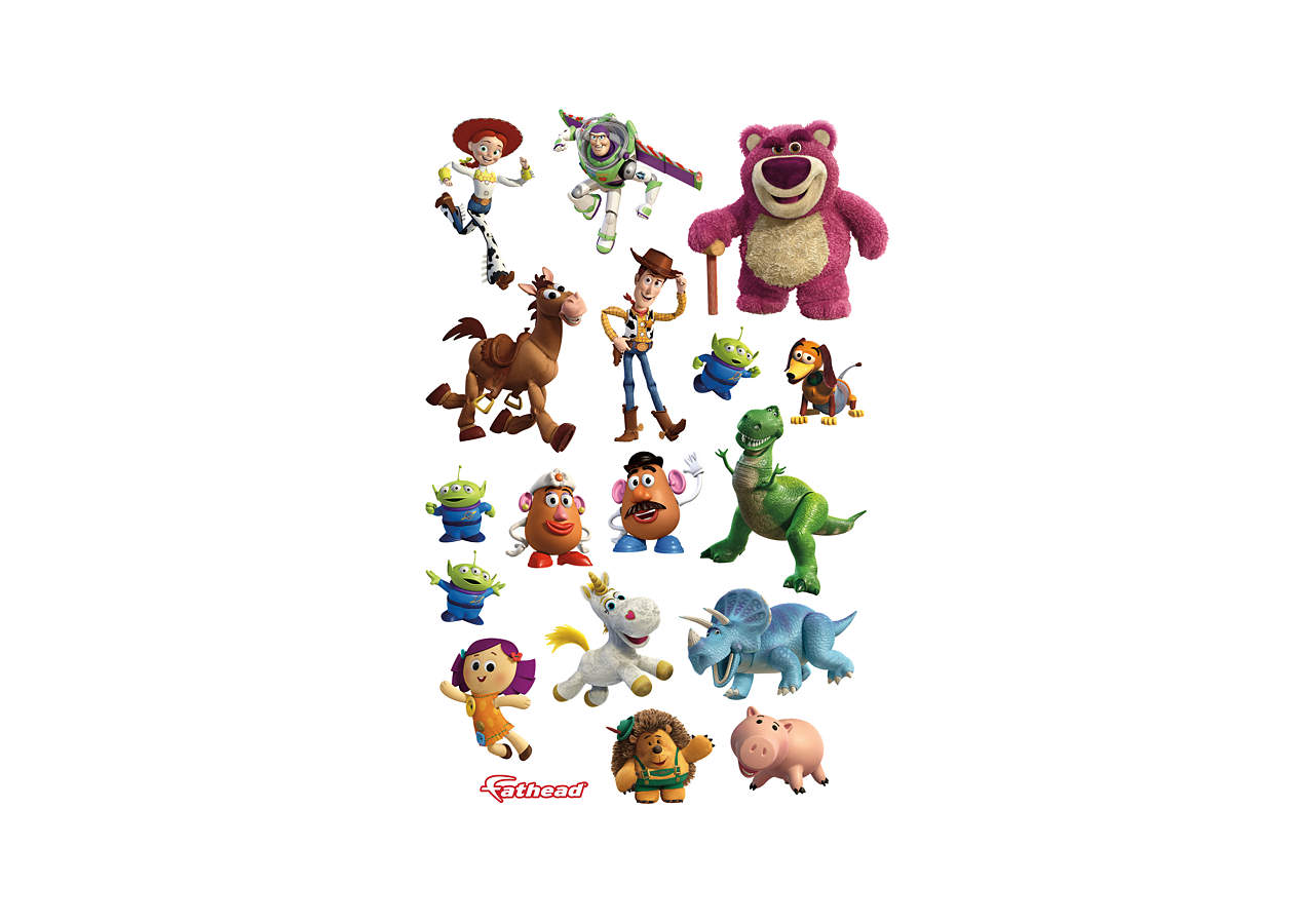 Toy Story 3 Collection Wall Decal