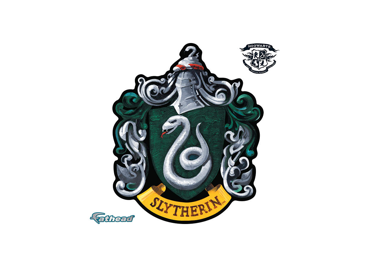 Small Slytherin House Sigil Teammate Decal Shop Fathead