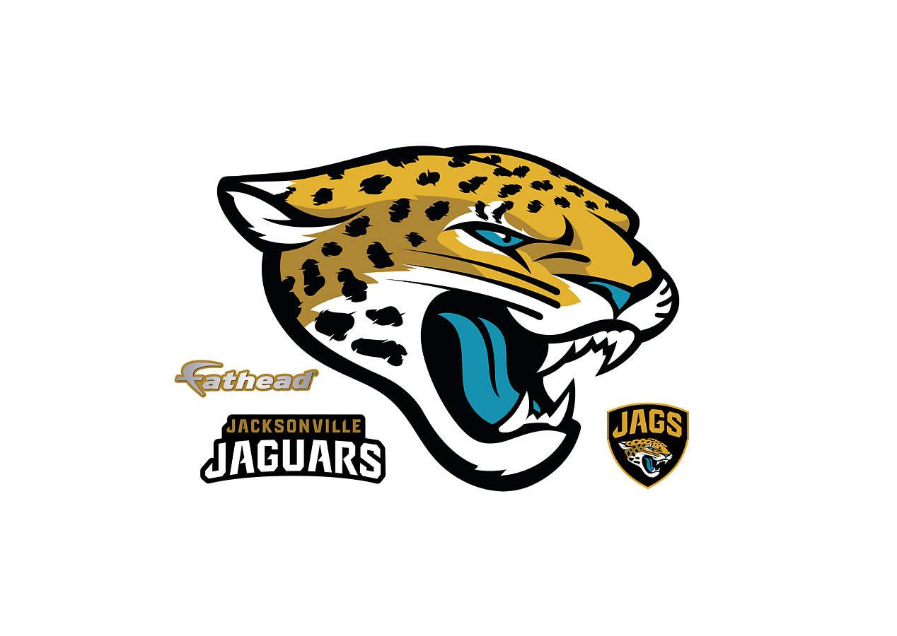 jaguars teammate logo decal shop fathead for jacksonville jaguars. Cars Review. Best American Auto & Cars Review