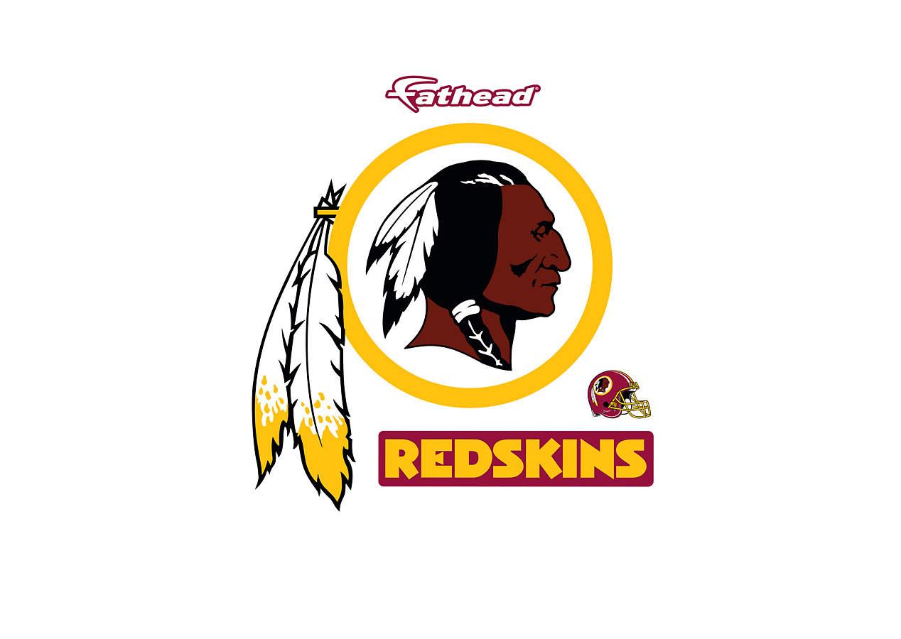 Small Washington Redskins Teammate Logo Decal Shop