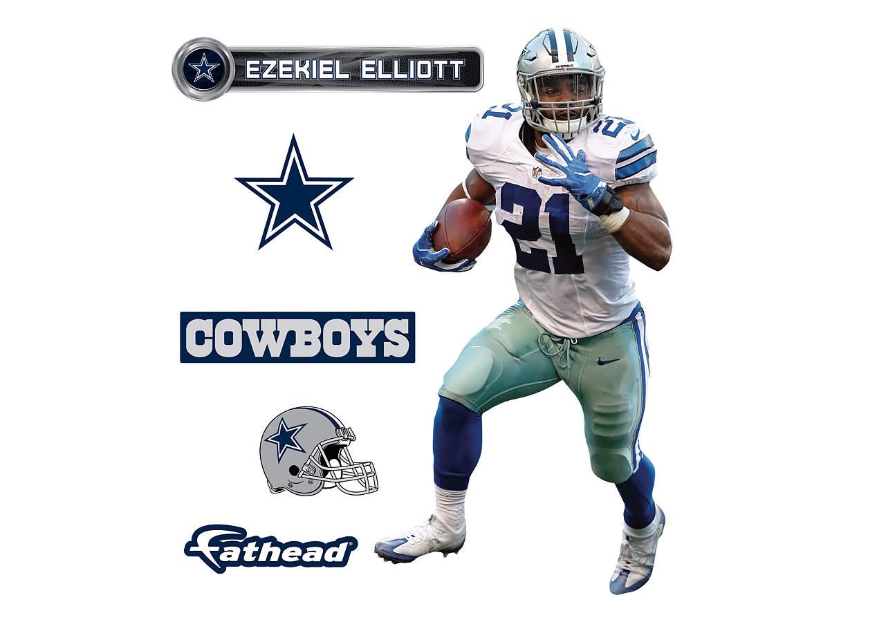 Small Ezekiel Elliott Teammate Decal Shop Fathead 174 For