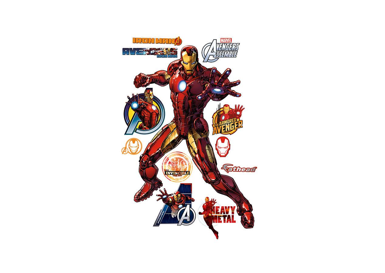 Iron Man - Marvel's Avengers Assemble Wall Decal | Shop ...
