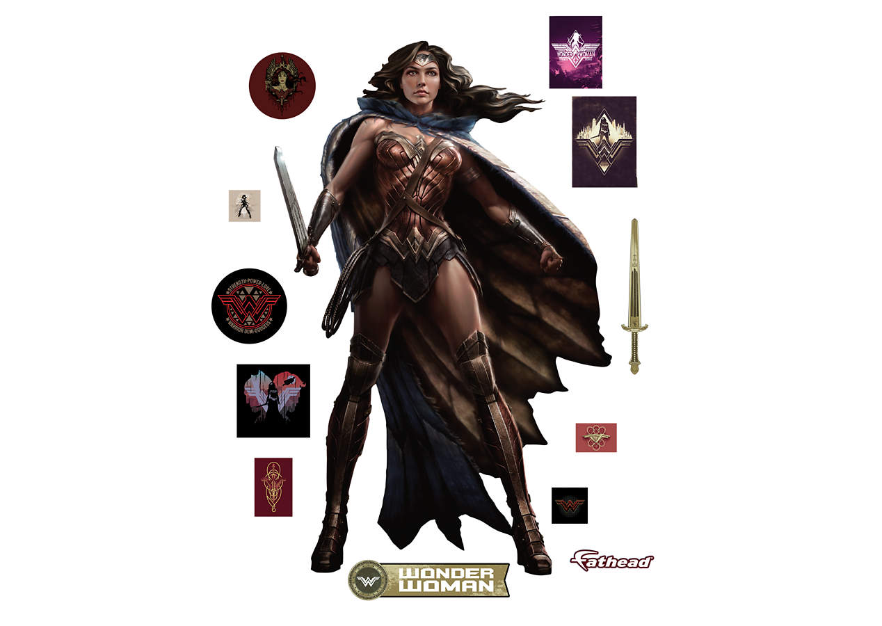 Wonder Woman Batman V Superman Wall Decal Shop Fathead