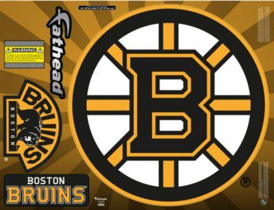 Boston Bruins Street Grip Outdoor Decal