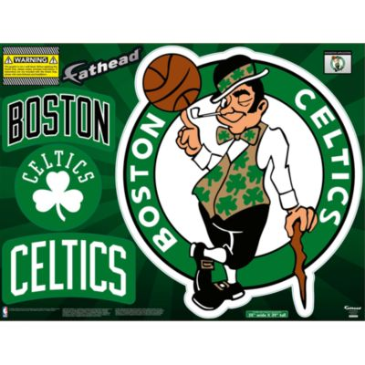 Boston Celtics Street Grip Outdoor Decal