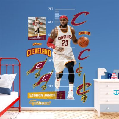 Assorted Basketball Graphics Fathead Wall Decal