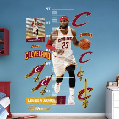 Basketball Player Silhouette Fathead Wall Decal