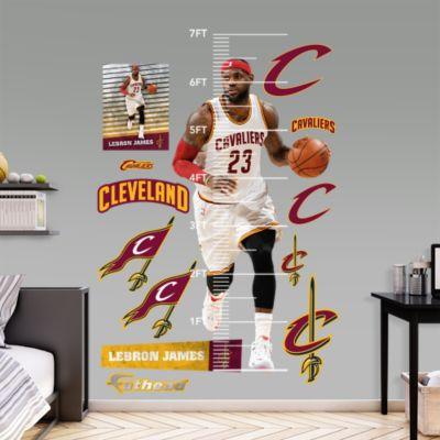 Assorted Baseball Graphics Fathead Wall Decal