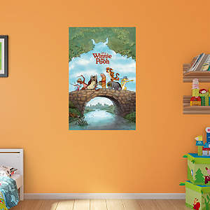 Winnie the pooh collection wall decal shop fathead for for Poster mural 4 murs