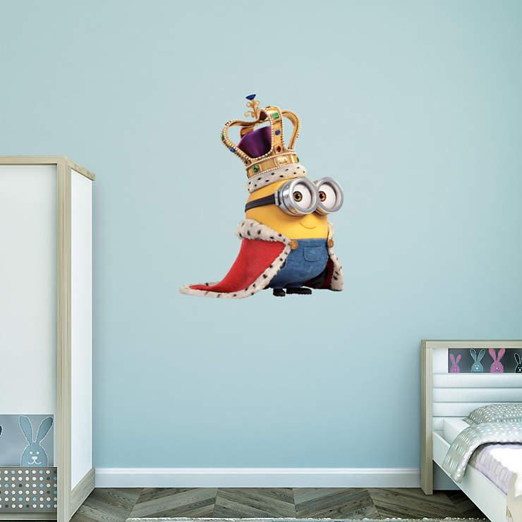 Minions King Bob Wall Decal | Shop Fathead® for Minions Decor