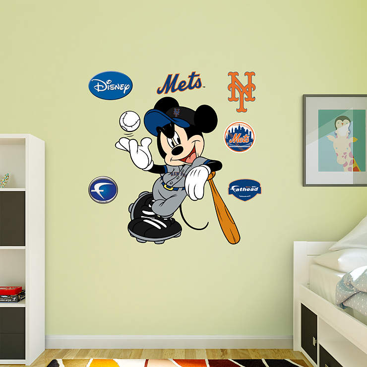 Mickey Mouse - New York Met Wall Decal | Shop Fathead® for ...