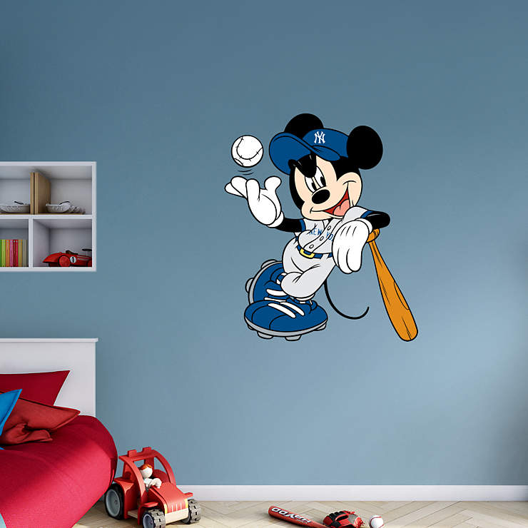 Mickey Mouse - New York Yankee Wall Decal | Shop Fathead ...