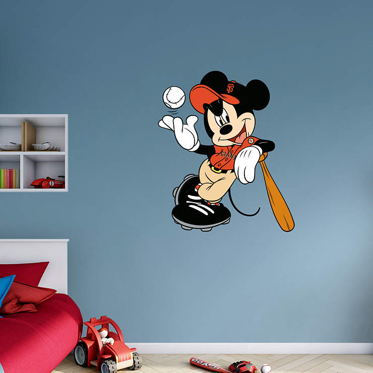 Mickey Mouse - San Francisco Giant Wall Decal | Shop ...