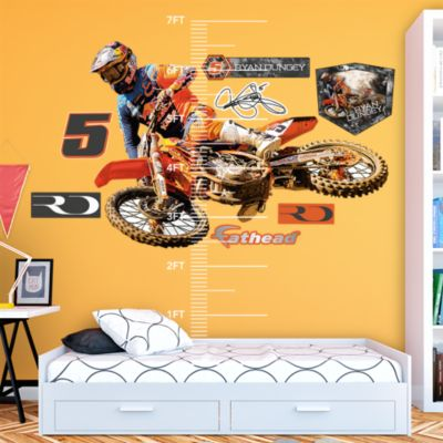 Clemson Tigers - Memorial Stadium Night Fathead Wall Mural