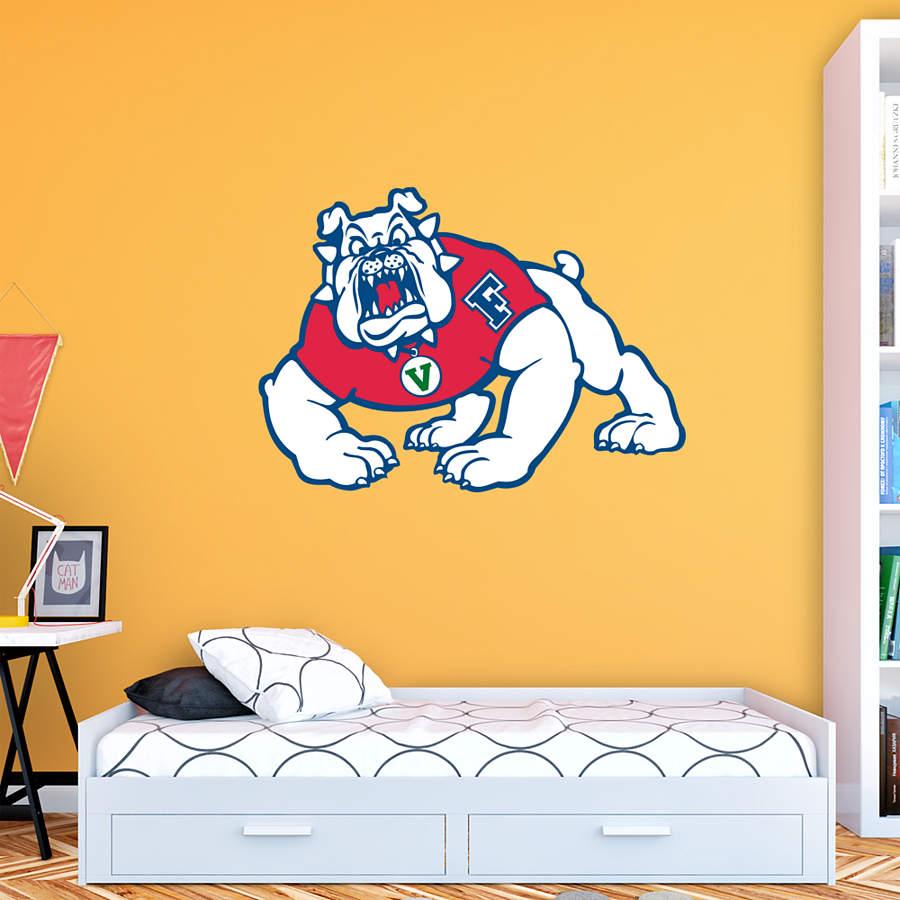 Fresno State Bulldogs Logo Wall Decal