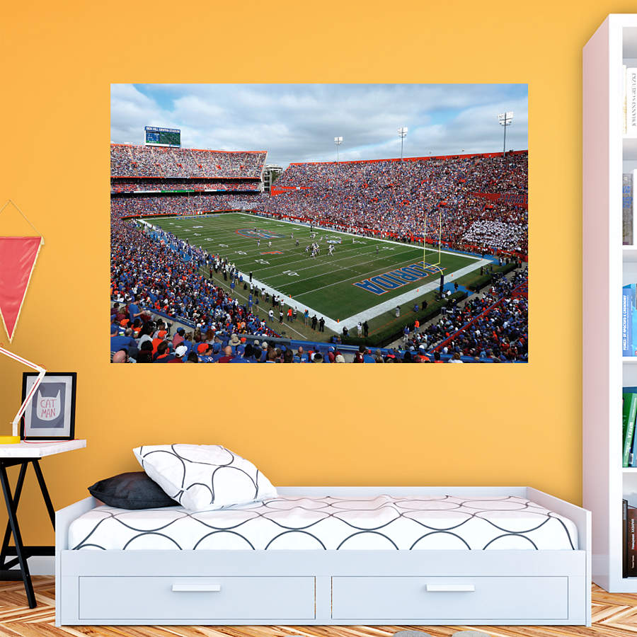 Florida Gators Ben Hill Griffin Stadium The Swamp Mural Wall Decal Shop Fathead For Florida