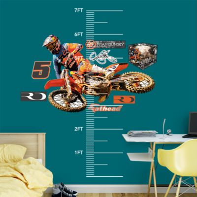 Kid Rock - Motorcycle Fathead Wall Decal