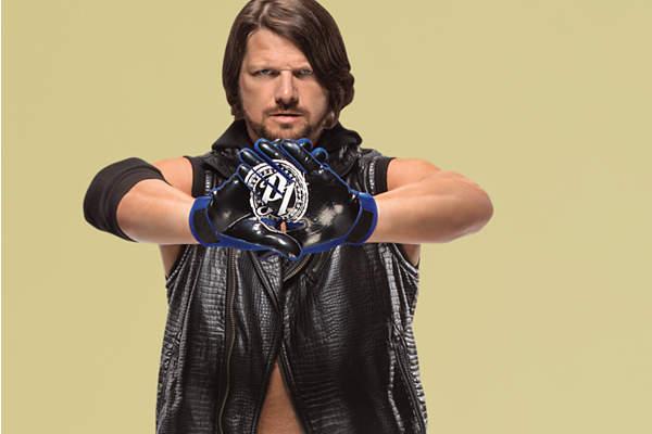 new AJ Styles Fathead