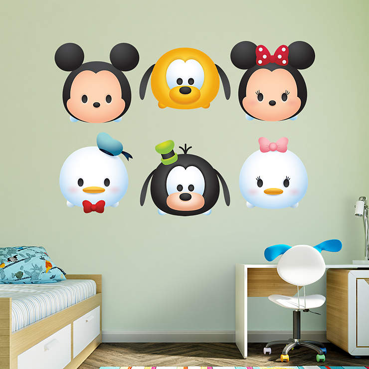 Mickey and Friends Tsum Tsum Collection Wall Decal | Shop ...