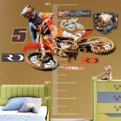 Grinding It Out Fathead Wall Decal