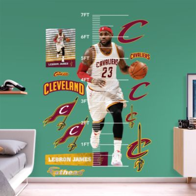 Jordan Wolf Fathead Wall Decal