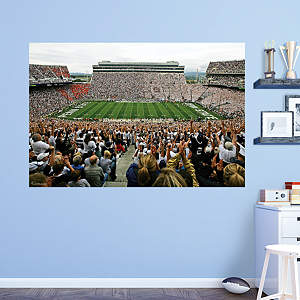 Penn state nittany lions dry erase board desk decal shop for Beaver stadium wall mural