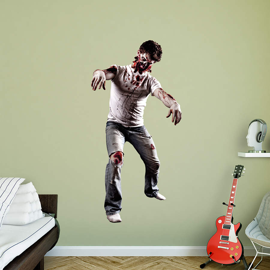 Zombie Wall Decal Shop Fathead For Halloween Decor