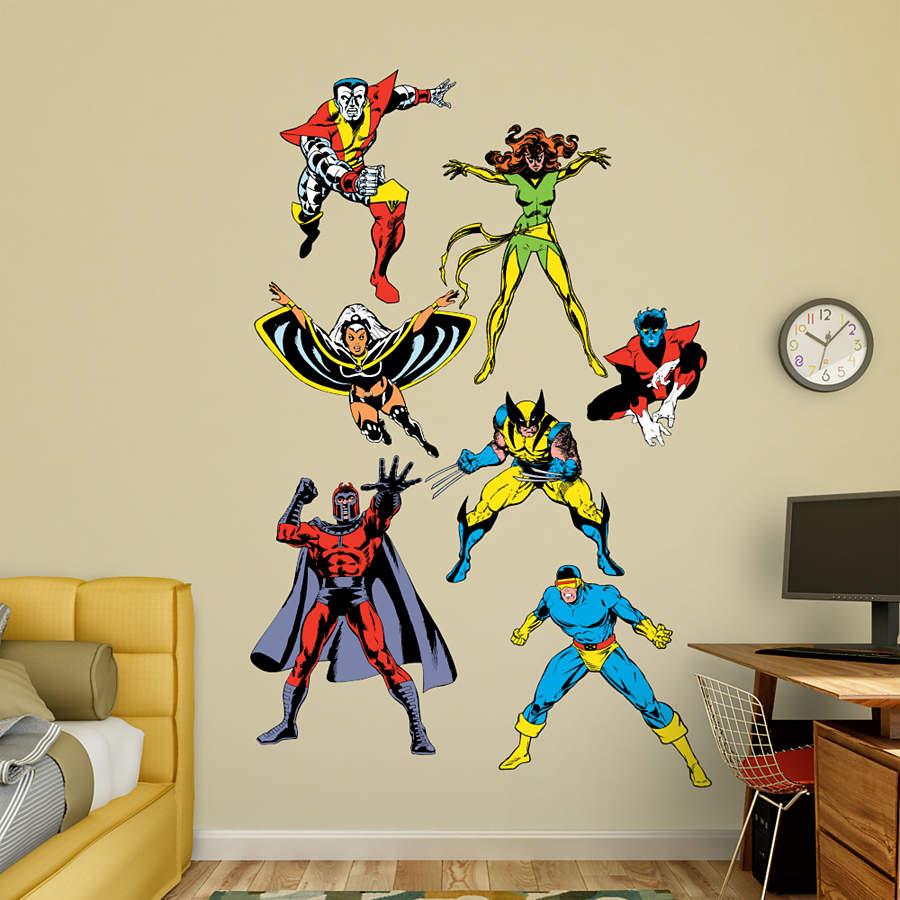 Classic X Men Wall Decal Shop Fathead For X Men Decor