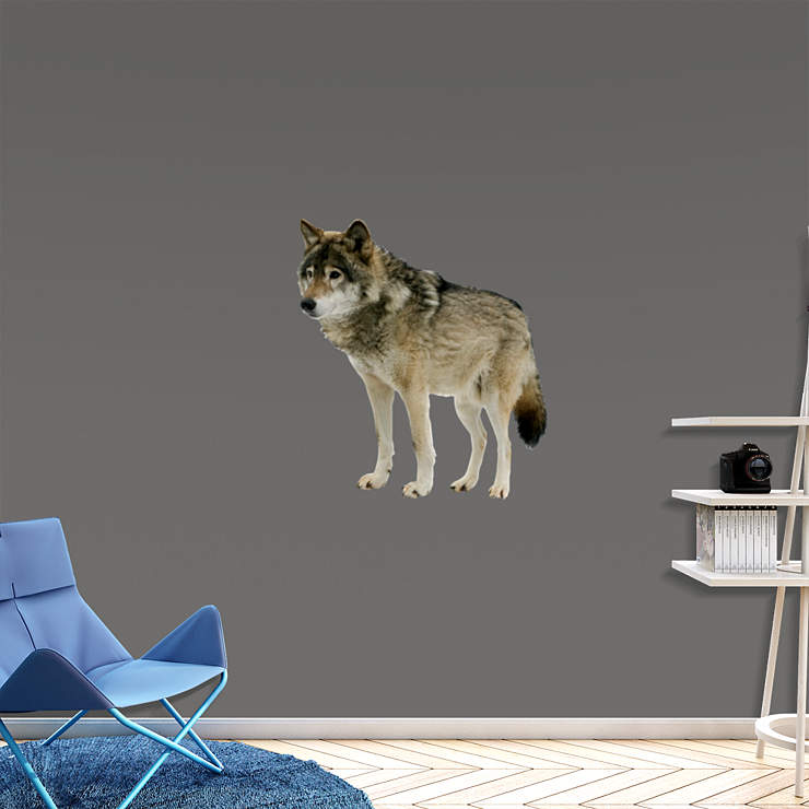 Wolf Wall Decal Shop Fathead 174 For General Animal