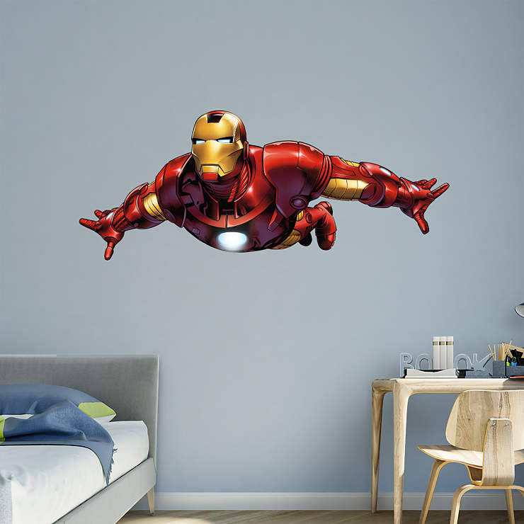 Iron Man - Avengers Assemble Wall Decal | Shop Fathead ...