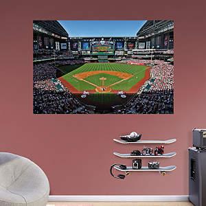 Baseball stadium murals fathead wall graphics for Baseball stadium wall mural kit