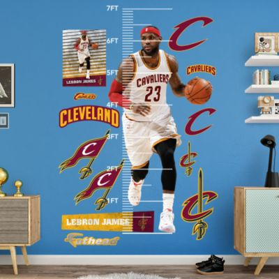 JR Smith - Throwback Fathead Wall Decal