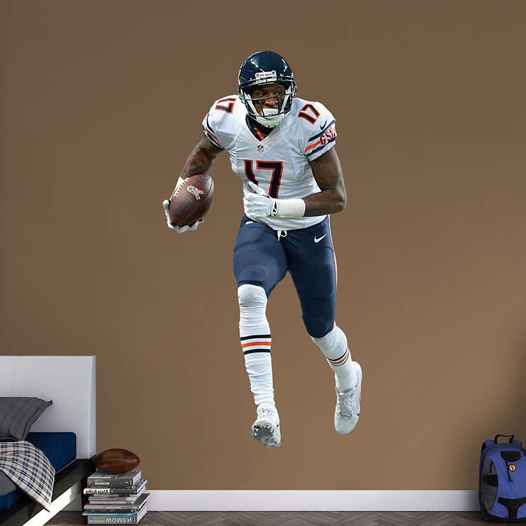 Chicago Bears Home Decor: Life-Size Alshon Jeffery Wall Decal